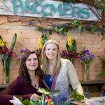 Former attorney-turned-small-town-florist, Abby Knight, has a nose for sleuthing, quickly embroiled in a murder investigation, grateful for the help when she teams with retired private eye, Marco Salvare, who now owns a local bar and grill.  Photo: Brooke Shields, Kate Drummond  Credit:  Copyright 2016 Crown Media United States, LLC/Photographer:  Shane Mahood